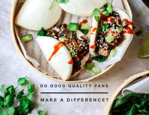 vegan sticky bao buns