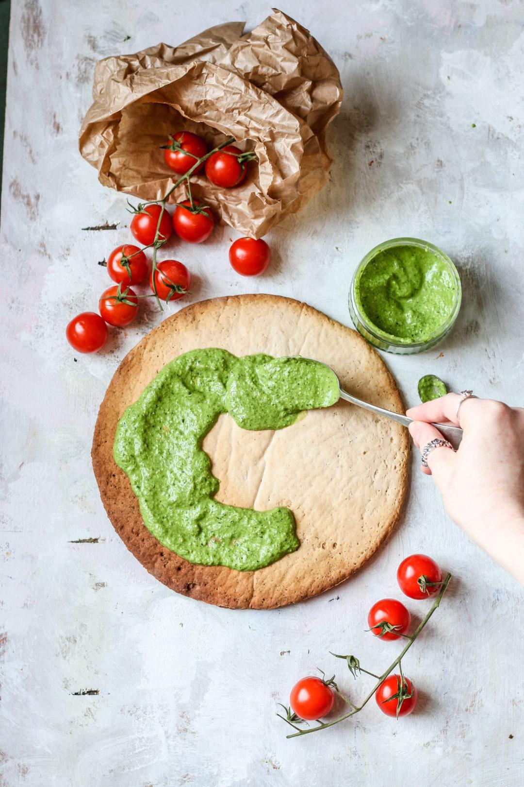 Spinach Pesto recipe vegan
