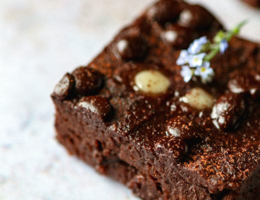 fudgey brownies vegan