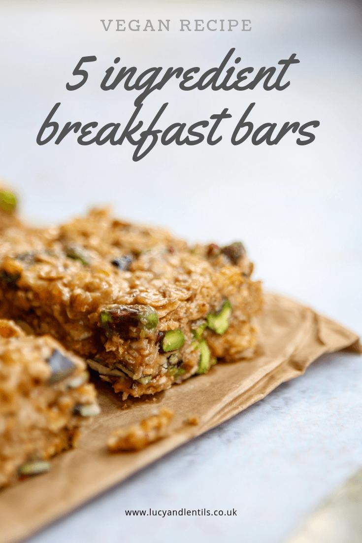 vegan breakfast bar recipe
