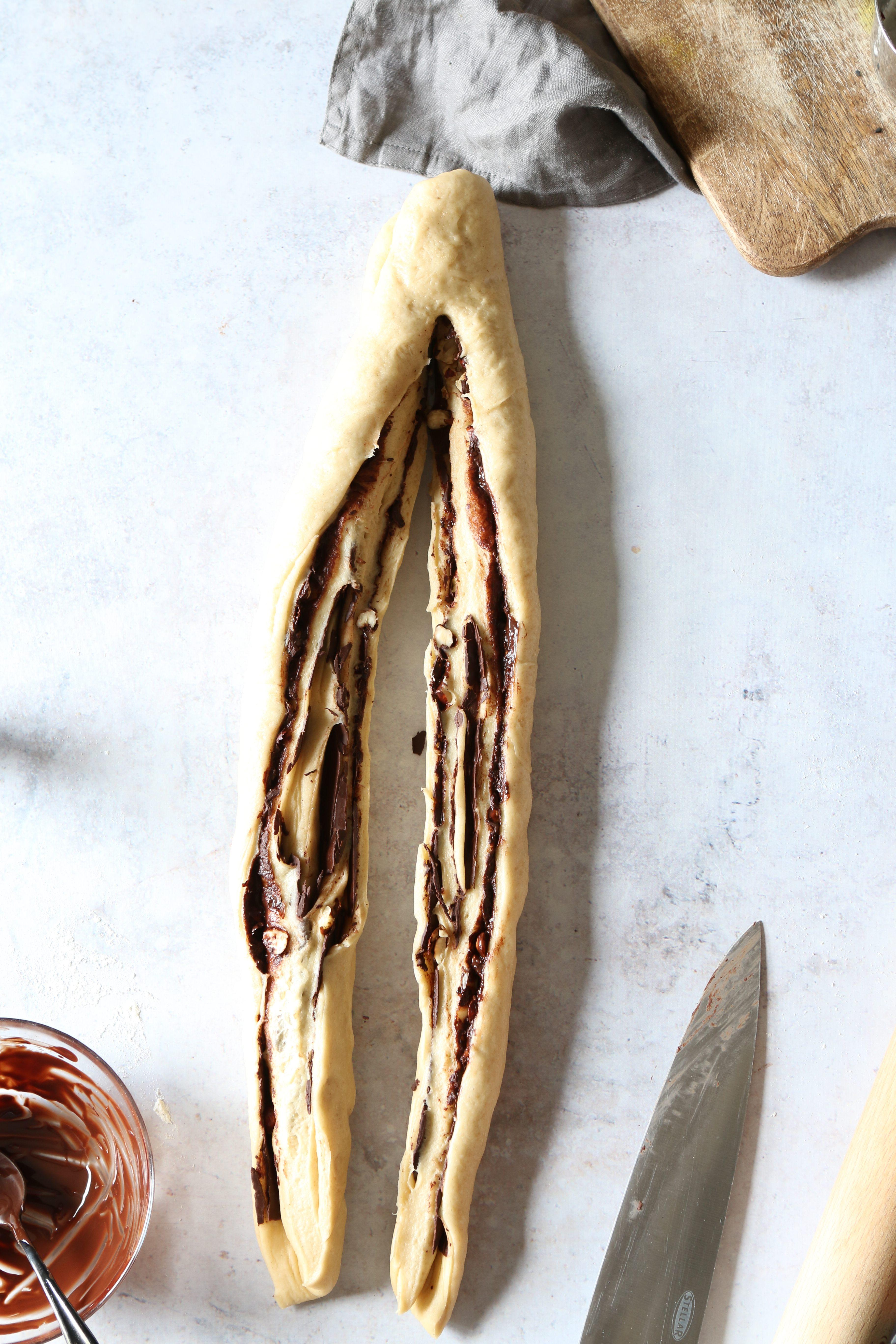 chocolate swirl bread vegan