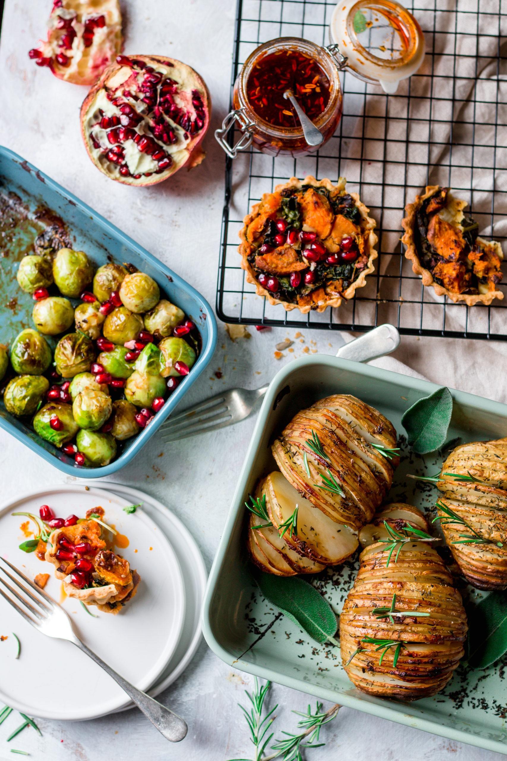 Vegan christmas meal idea