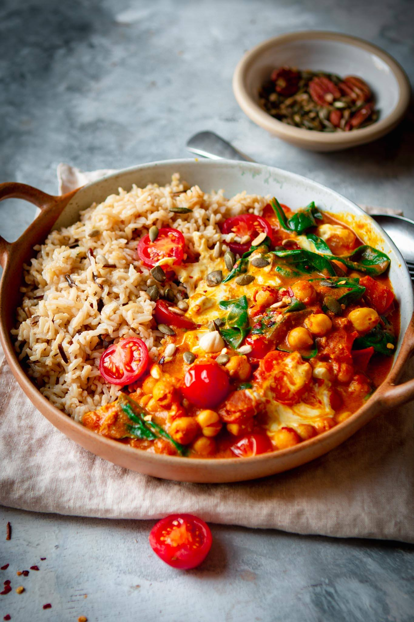 vegan chana masala recipe tilda rice