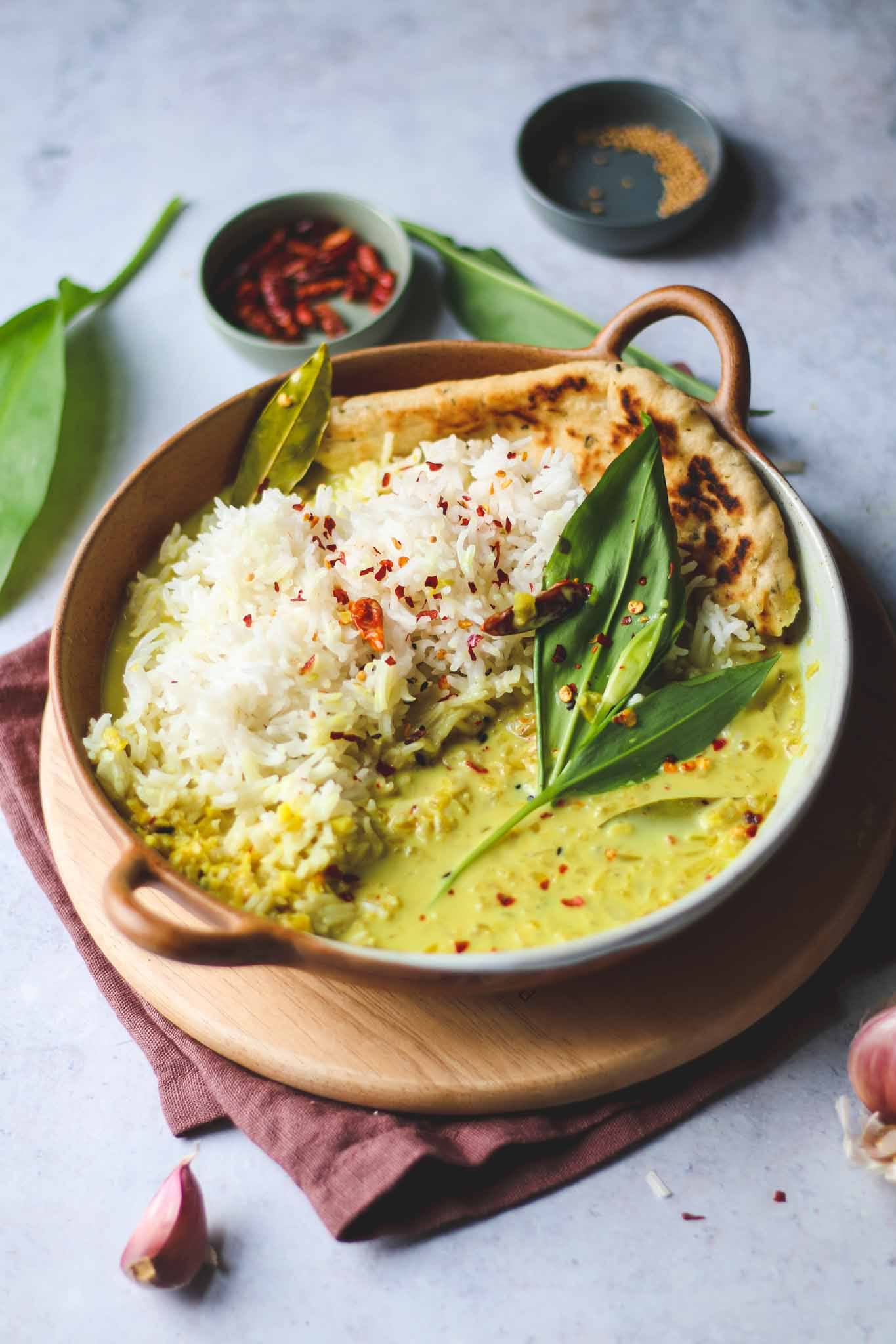 kerala buttermilk vegan curry recipe