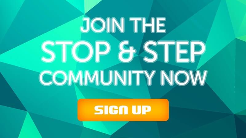 stopandstep forum signup