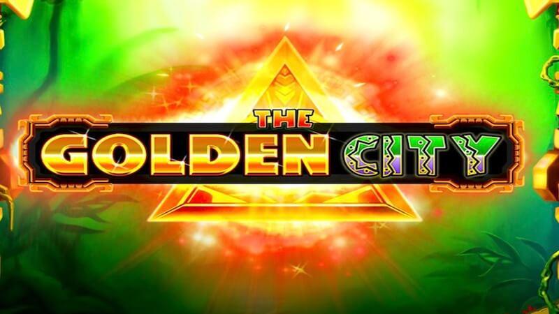 the golden city slot logo