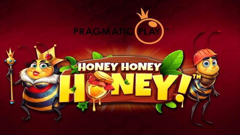 honey honey honey slot logo