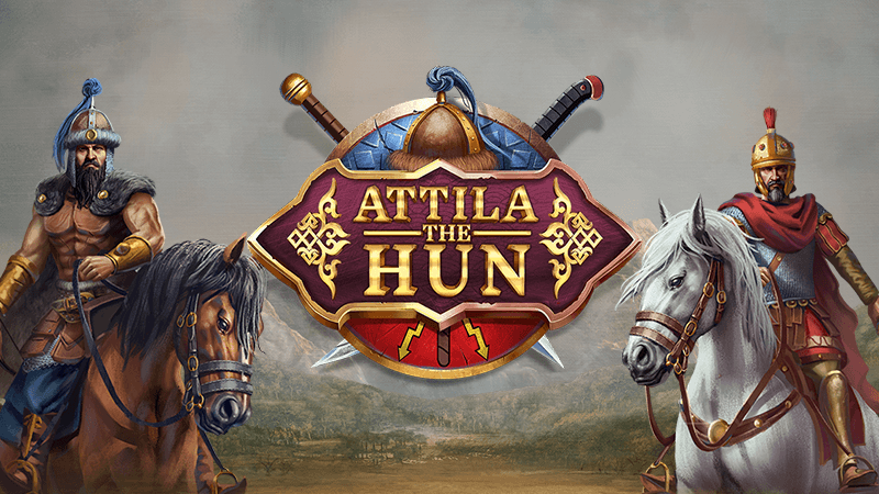 attila the hun slot logo