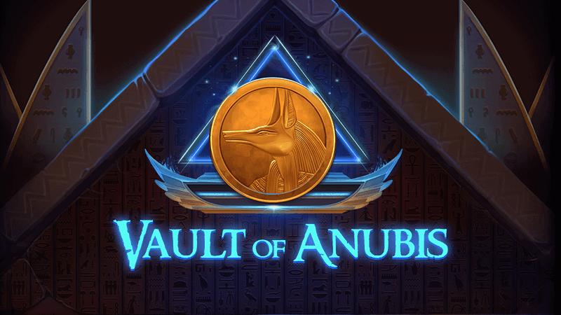 vault of anubis slot logo