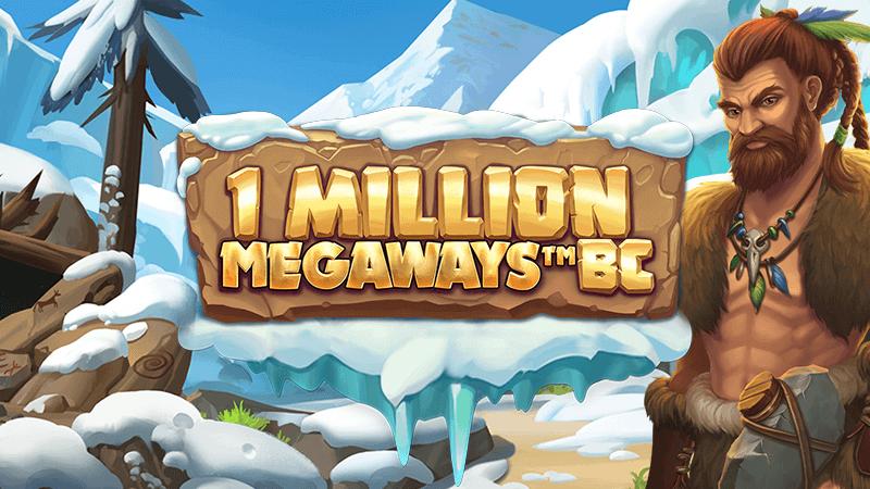 1 million megaways bc slot logo