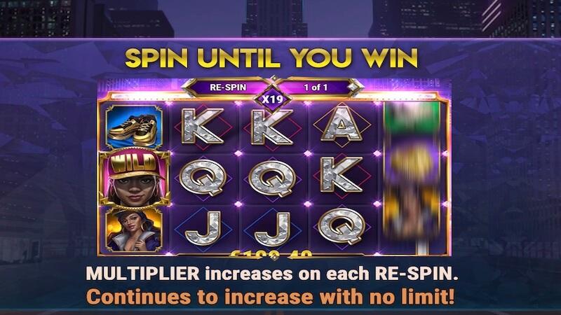 blinged slot rules