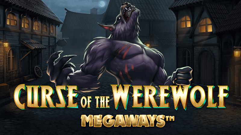 curse of the werewolf slot logo
