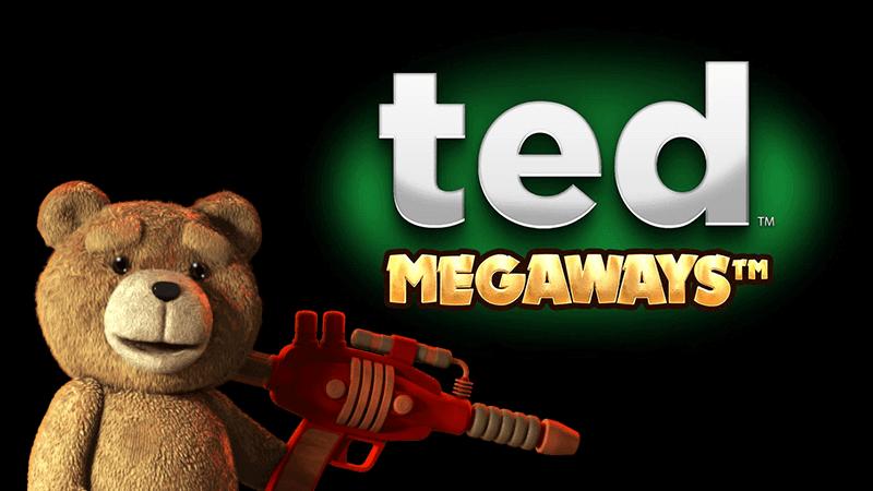 ted megaways slot logo