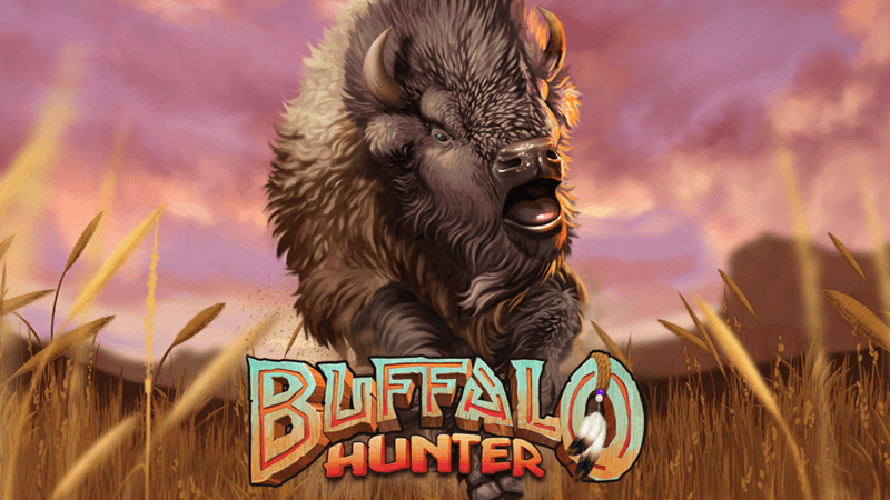 buffalo hunter slot logo