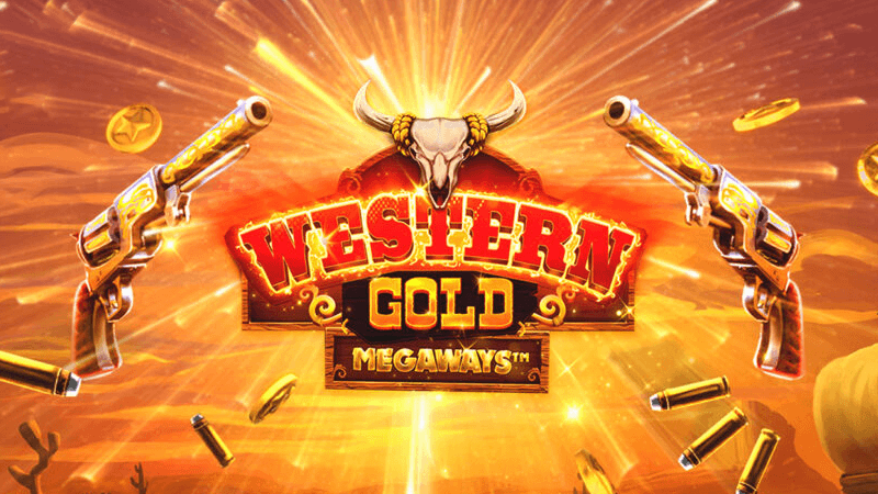 western gold megaways slot logo