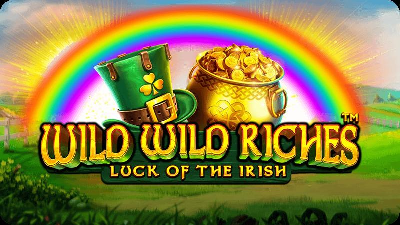 wild wild riches slot logo