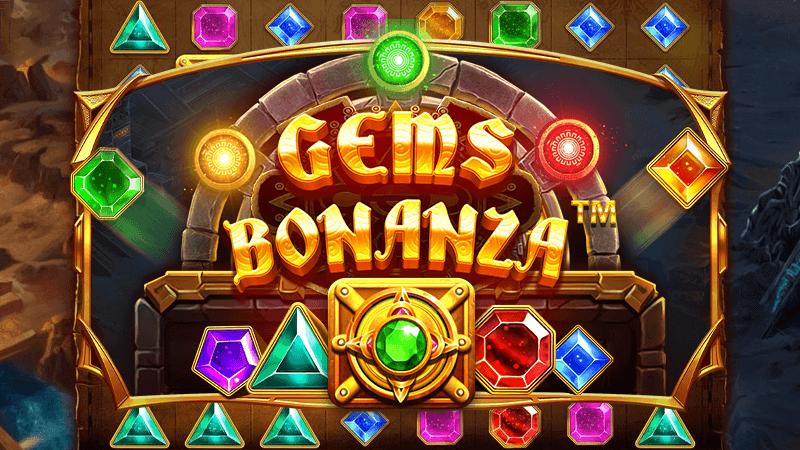 gems bonanza slot logo