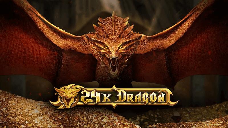 24k dragon slot logo