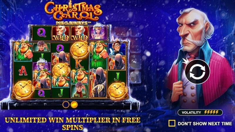 christmas carol megaways slot rules