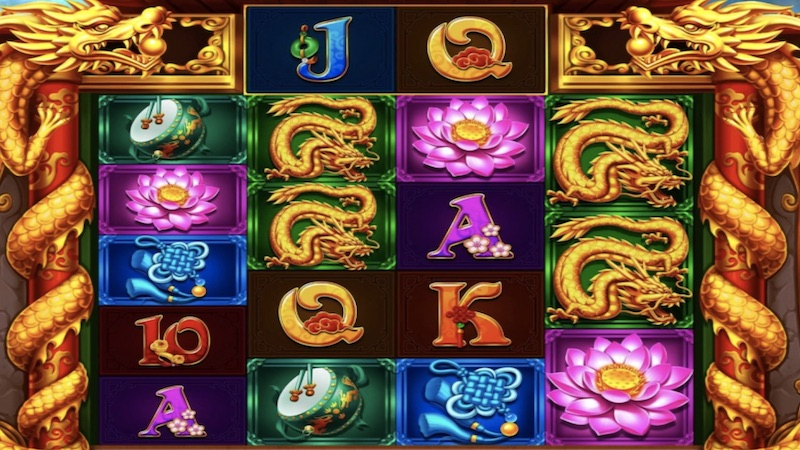 dragon match slot gameplay