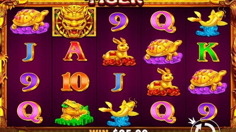 dragon tiger slot gameplay