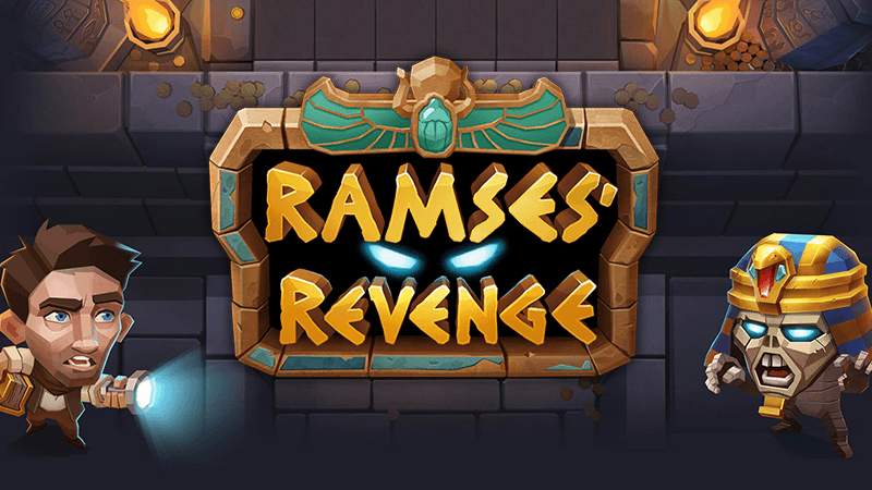 ramses revenge slot logo