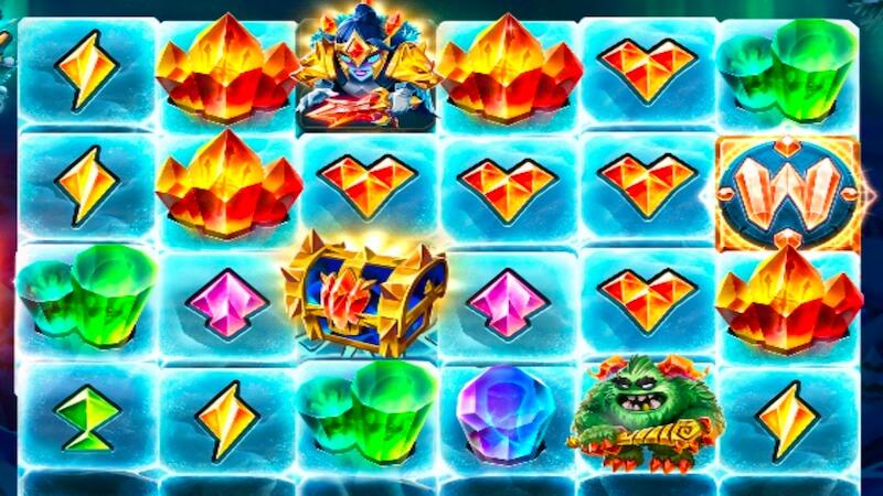 crystal queen slot gameplay