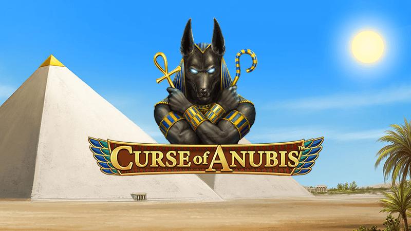 curse of anubis slot logo