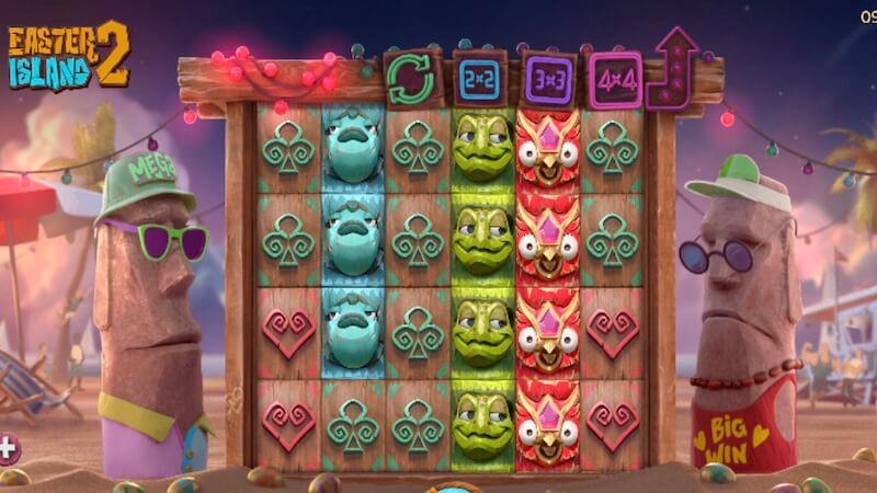 easter island 2 slot gameplay