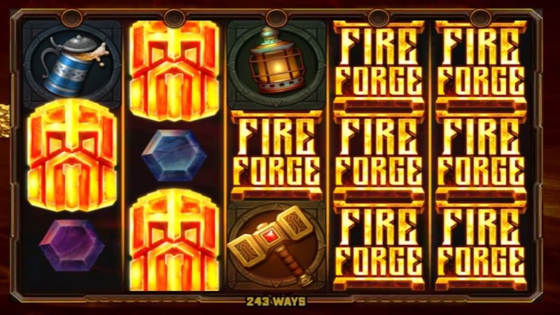 fire forge slot gameplay