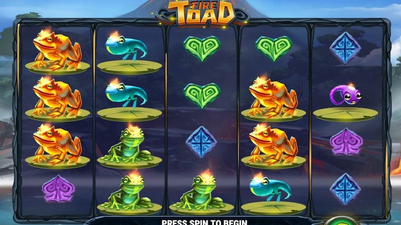 fire toad slot gameplay