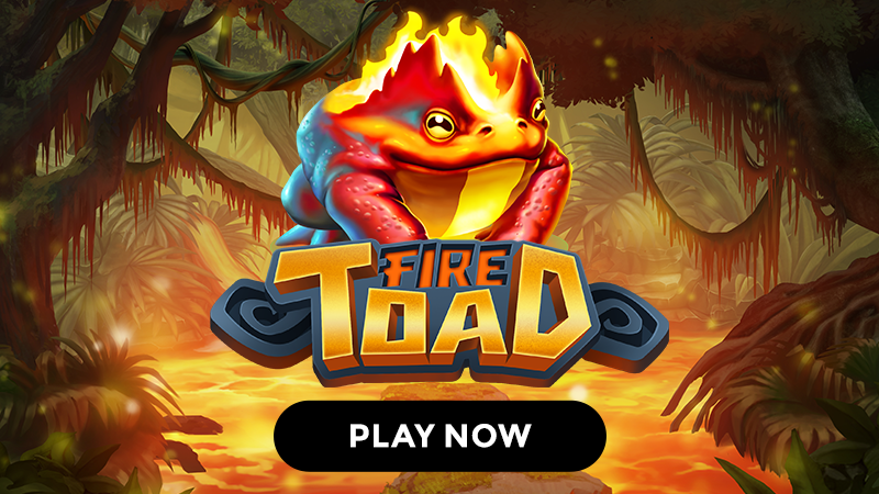 fire toad slot signup