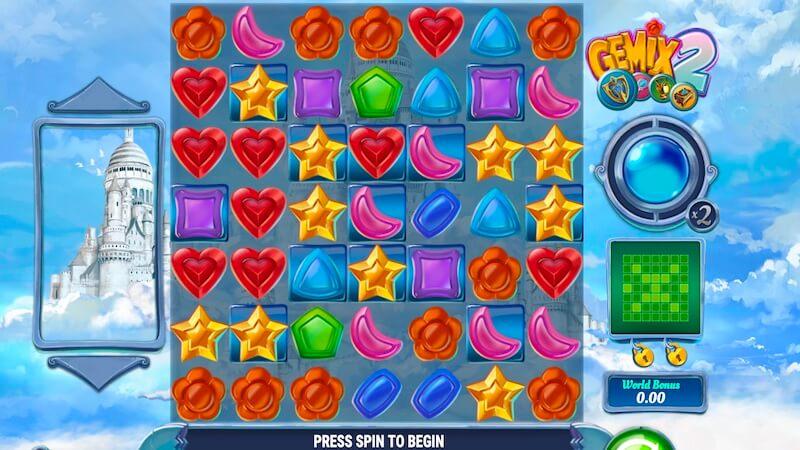 gemix 2 slot gameplay