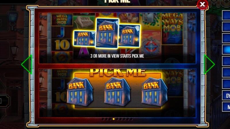 megaways mob slot rules