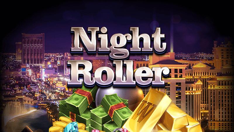 night roller slot logo