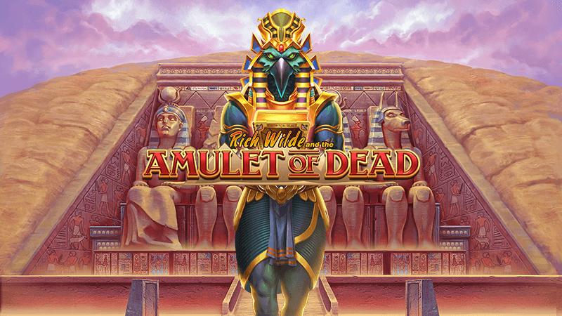 rich wilde amulet of dead logo
