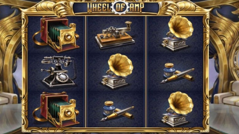 wheel of amp slot gameplay