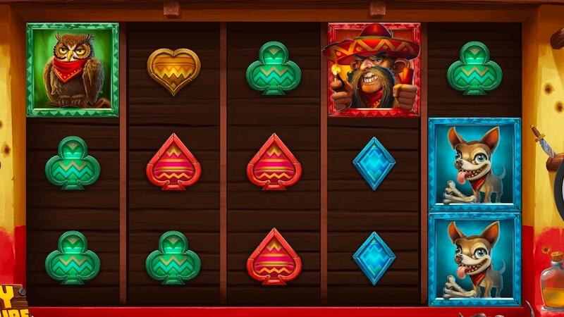 wild chapo slot gameplay