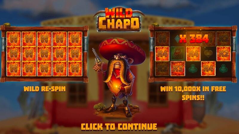 wild chapo slot rules