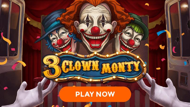 3 clown monty slot signup