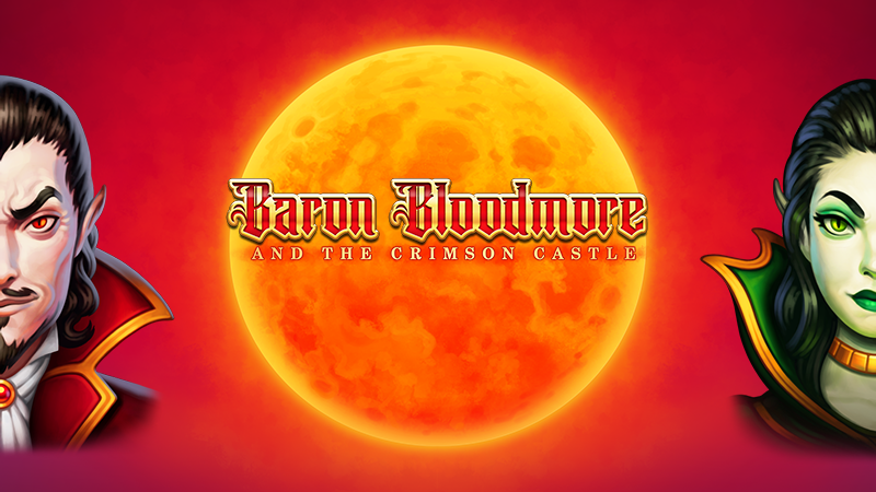 baron bloodmore slot logo