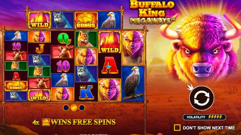 buffalo king megaways rules