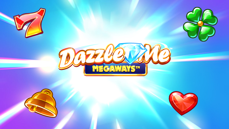 dazzle me megaways slot logo