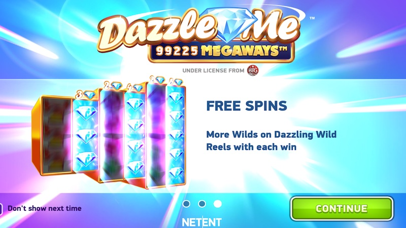 dazzle me megaways slot rules