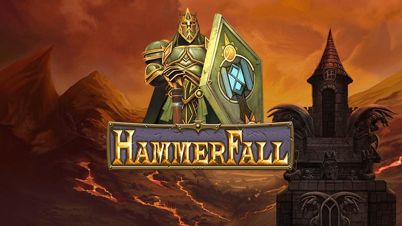 hammerfall slot logo