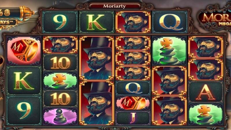 moriarty megaways slot gameplay