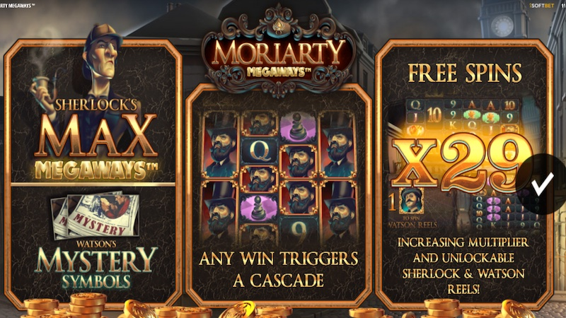 moriarty megaways slot rules
