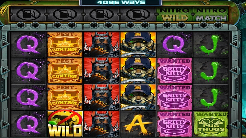 nitropolis 2 slot gameplay