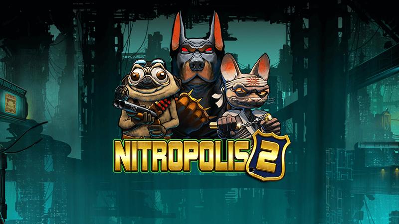 nitropolis 2 slot logo
