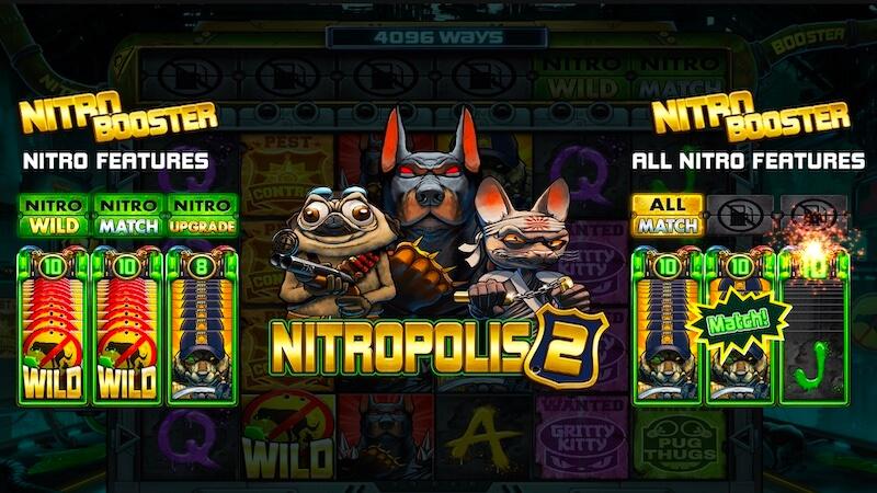 nitropolis 2 slot rules